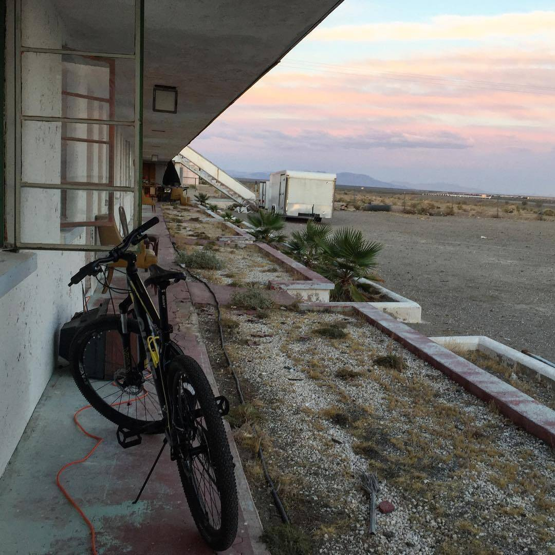 bike rides / desert skies