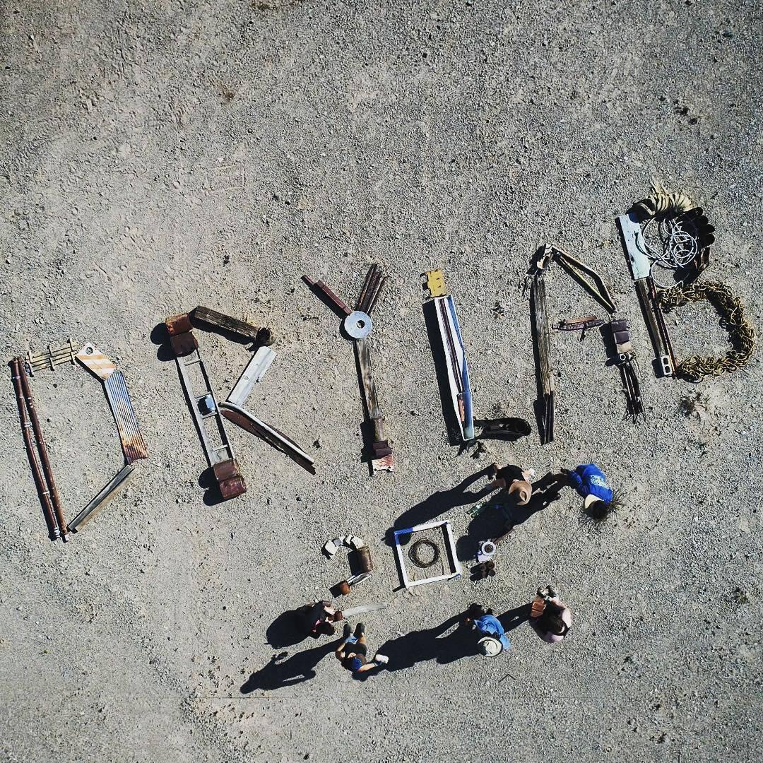 drylab2023.net #drylab2023 #mojavedesert #recycledfont #sustainability