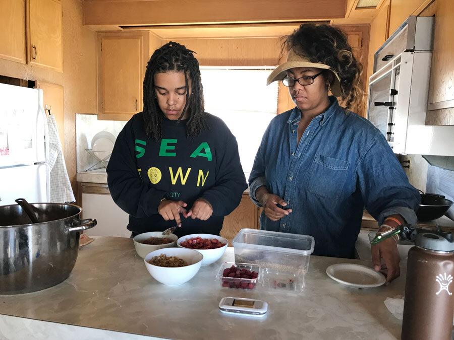 Making quinoa 'cereal'