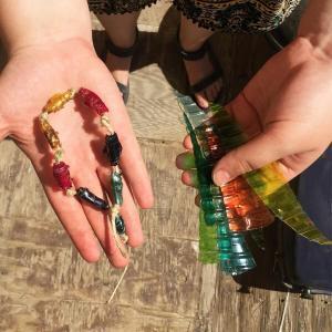 Water bottle beads