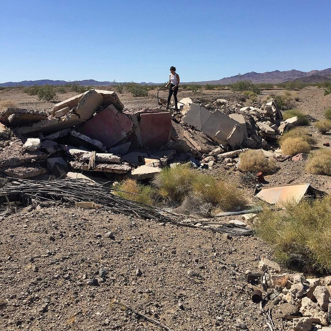 dumping in the desert to become new structures at drylab2023